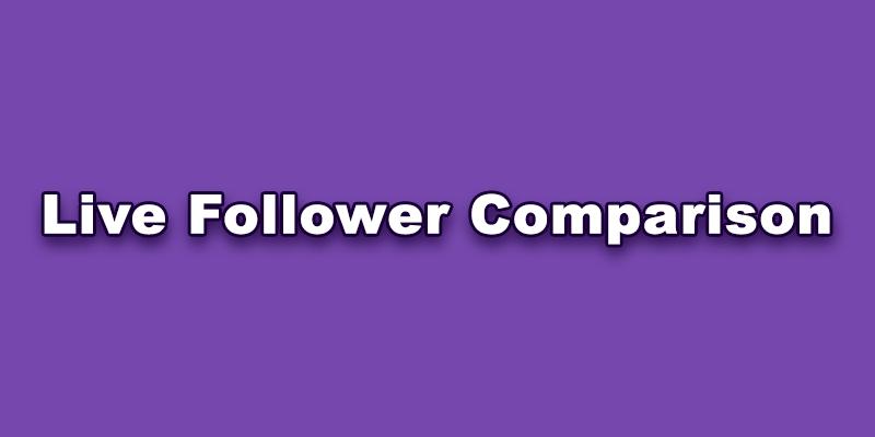 TikTok Live Follower Comparision