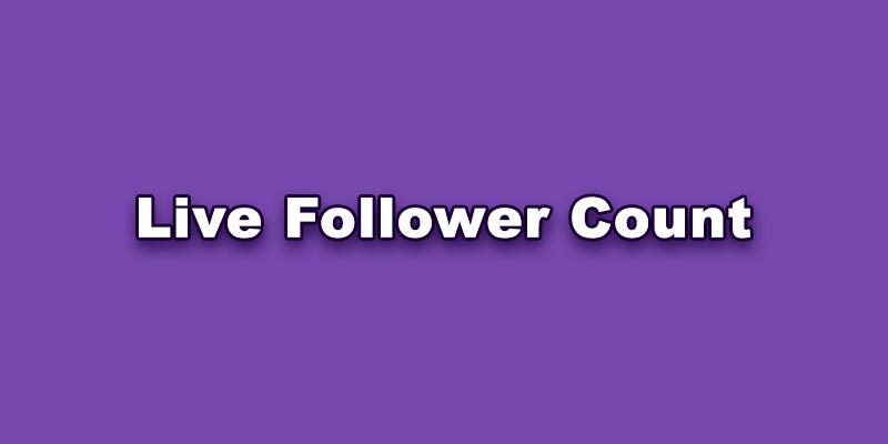 TikTok Live Follower Count