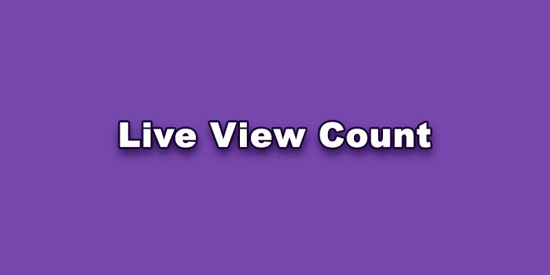 TikTok Live View Count